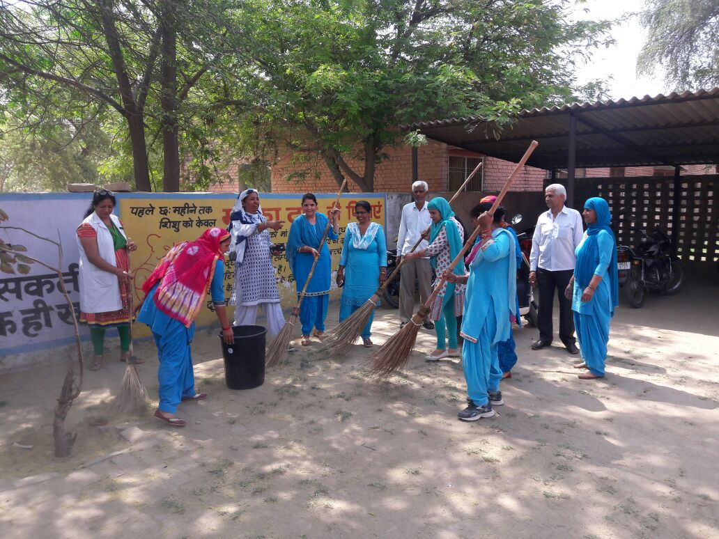 Swachhatta Se Siddhi Cmapaign: Activity of District Hisar on 02.04.2018