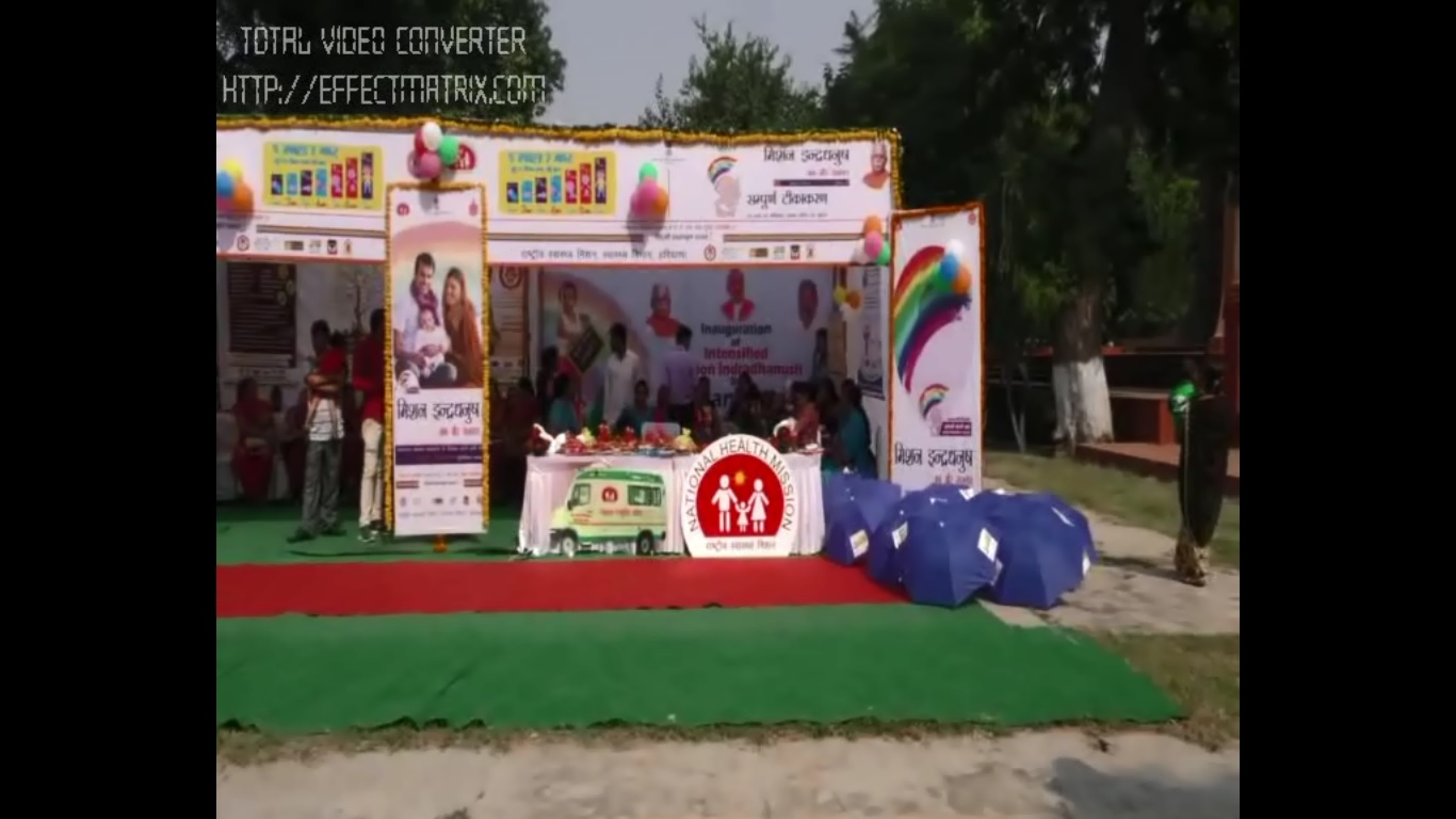 Intensified Mission Indradhanush - Gurugram Oct 2017
